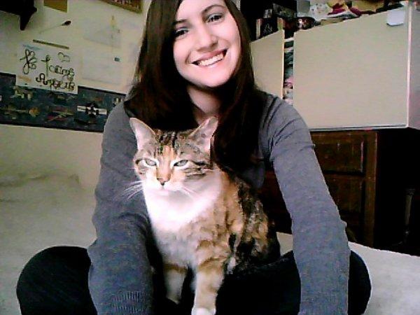 Mon chat et moi :p