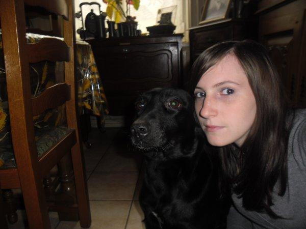 Ma chienne et moi :p