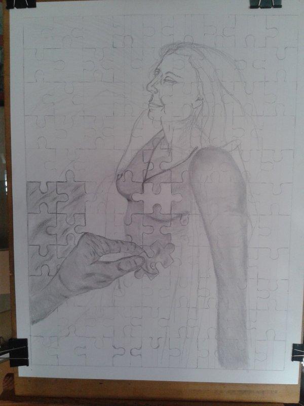 dessin en cours