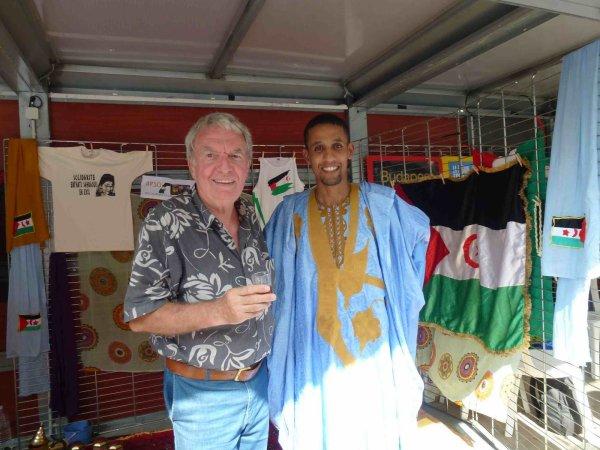 Les Sahraouis à Aubagne, Fête de la Paix 2012
