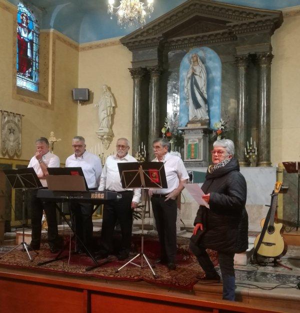 Concert à l'église de Bressols- Le 17 Novembre 2018
