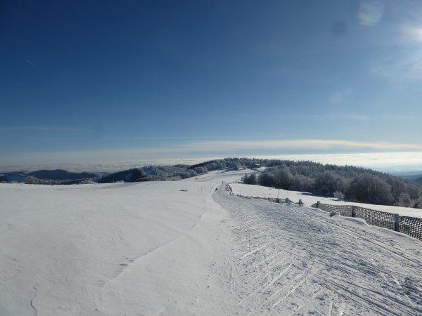 un temps superbe au Ballon d'Alsace cet après midi