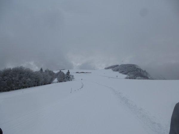 Enfin, la neige est revenue, mais pas encore le soleil