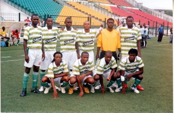 equipe olympic de nkayi fabolo le  buteur