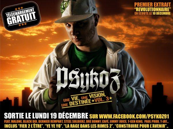 Nouvelle net-tape de Psykoz disponible le 19 Décembre 2011