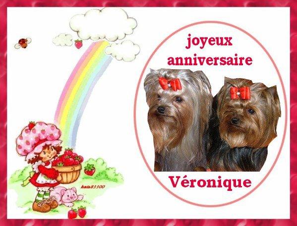 Joyeux Anniversaire Veronique Azzaro Le Westie