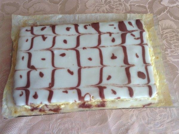 Gâteau pour une gourmande. 😋