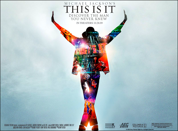 25 juin 2009 : La disparition d'une légende de la musique + Michael Jackson's This Is It