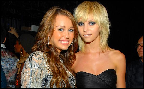 Taylor Momsen VS Miley Cyrus, round #1