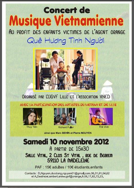 CONCERT LE 10 NOVEMBRE 2012