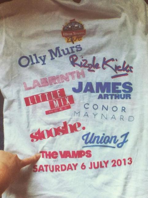 Vidéos Alton Towers Live Festival 06.07