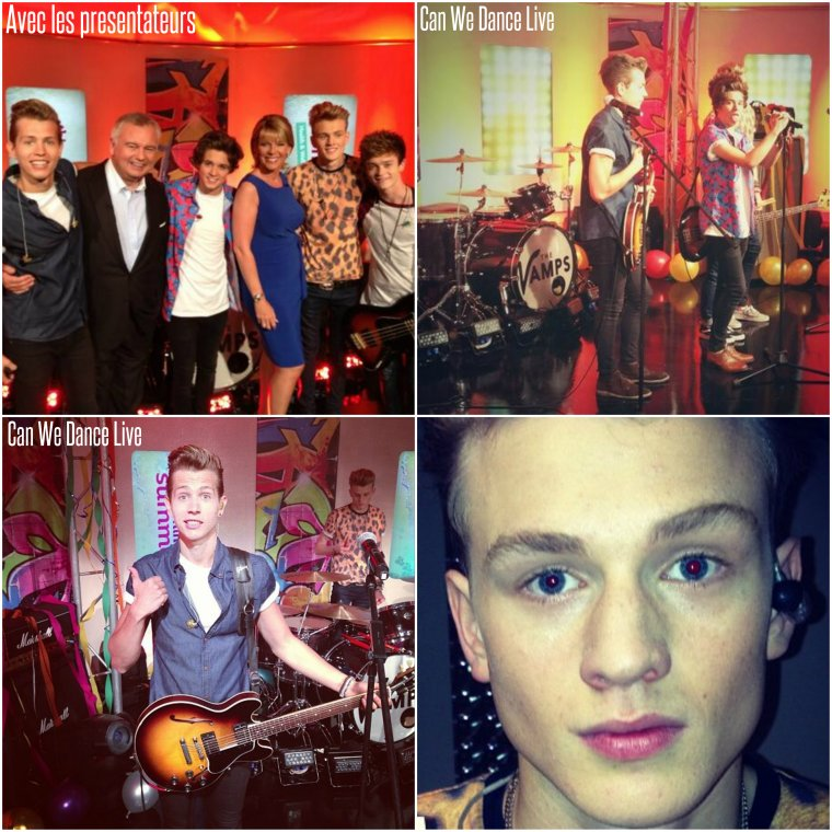 "The Vamps en live sur ITV dans l'émission ""This Morning"" (27.08.13)"