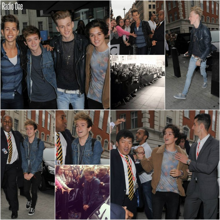 The Vamps à Radio One (22.09.13)
