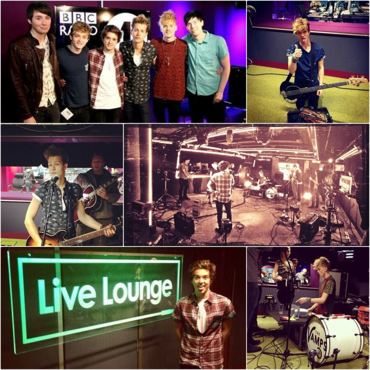 The Vamps à BBC Radio 1 (02.10.13)