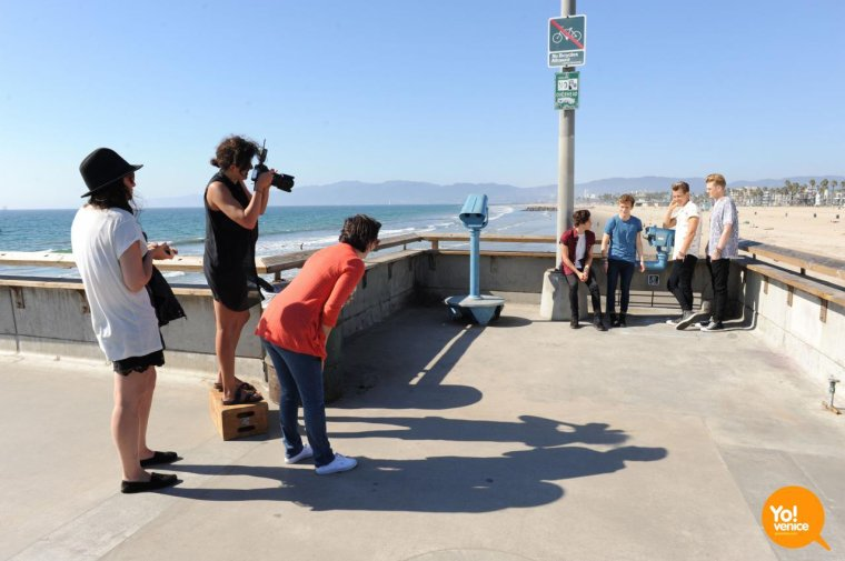 Mini Flash-Back de 2 semaines : The Vamps photoshoot à Venice Beach (Los Angeles)