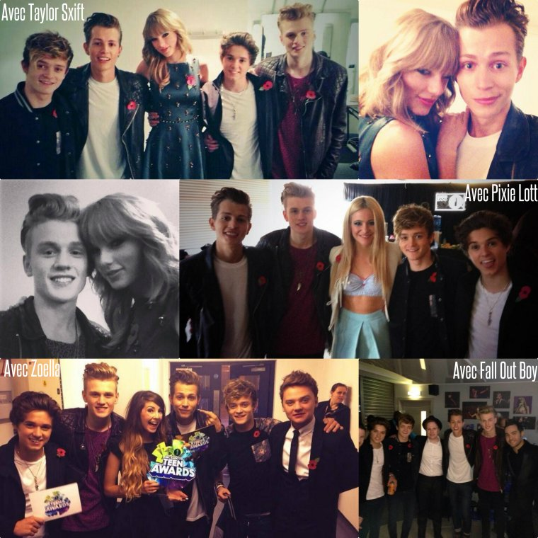 The Vamps au Radio 1 Teen Awards 2013 (03.11.13)