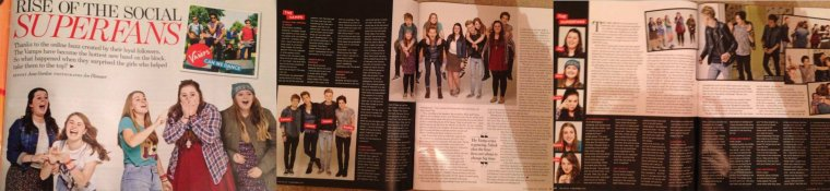 The Vamps dans YOU Magazine