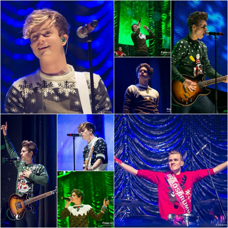 Free Radio Live - The Vamps 30.11.13