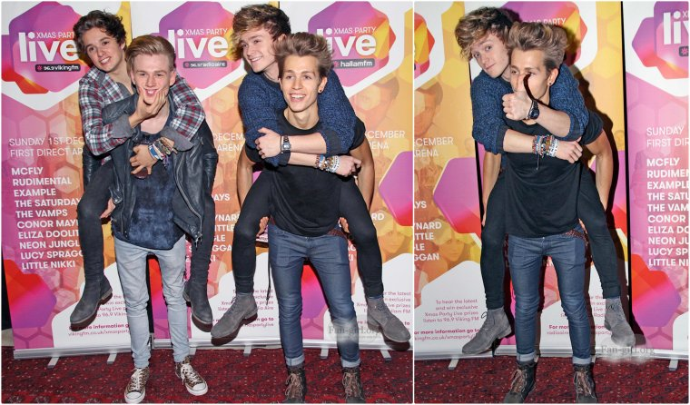 The Vamps - XmasPartyLive 01.12.13