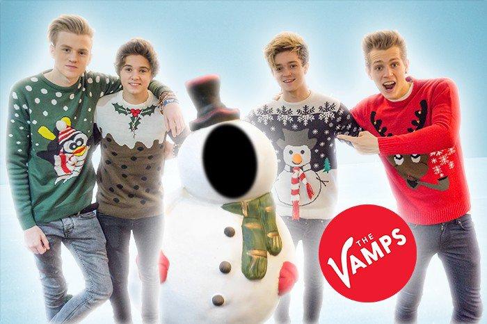 Fais une selfie avec The Vamps ! 26.12.13