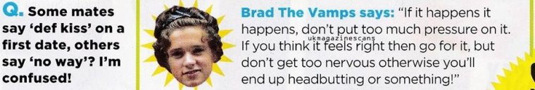 The Vamps dans le magazine We Love Pop