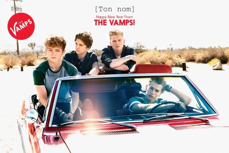 Poster personnalisé The Vamps 03.01.14