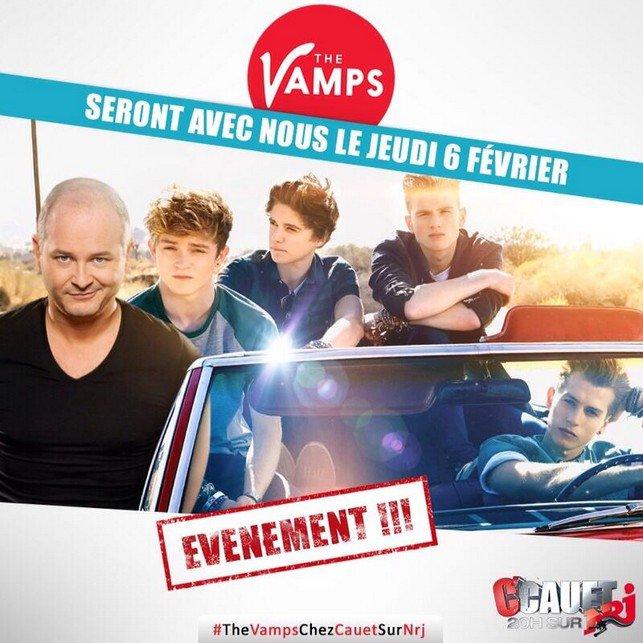 C'est LA grande nouvelle de la semaine pour nous French Vampettes : THE VAMPS EN FRANCE LE 6 ET 7 FÉVRIER PROCHAIN