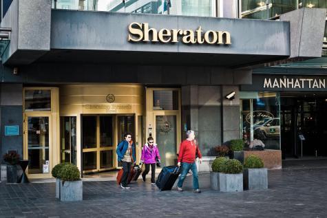 Le Sheraton Brussels Hotel s'est vidé de ses derniers clients