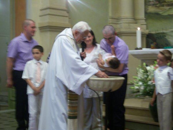 BAPTEME DE MA FILLEUIL