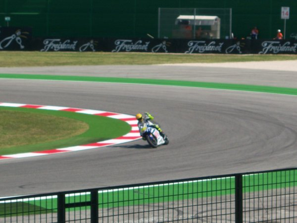 rossi a misano 2010
