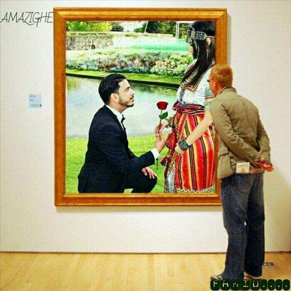 Demande au mariage amazighe comme c'est beau