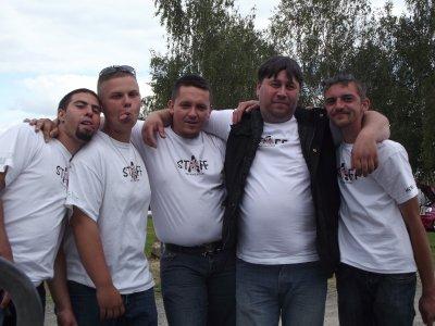 """Les membres du club""""Les Fous Du Volant"""""""