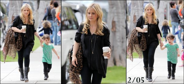 28/04/2012: Première sortie de Sarah depuis l'annonce de sa grossesse. La future maman pour la 2e fois a été aperçu alors qu'elle emmenait Charlotte à sa leçon de danse. Pour moi c'est un TOP, la tenue est simple mais jolie :)