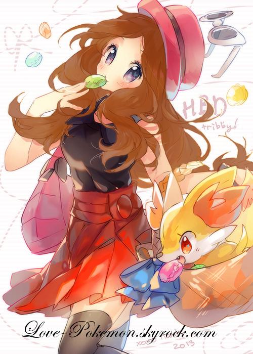 Je suis Sally, princesse de PokemonLand !