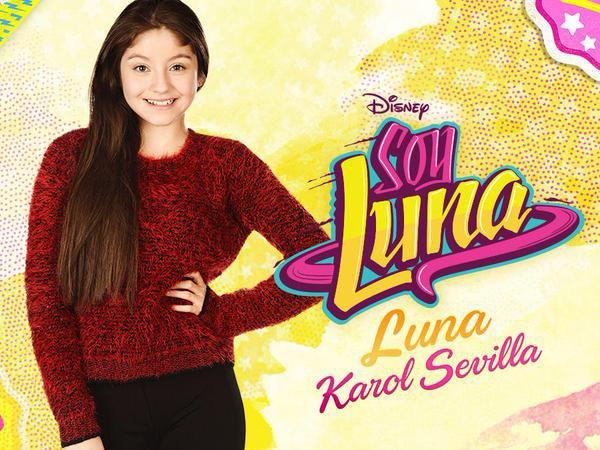 Première  photoshoot de Soy Luna avec Karol Sevilla :D