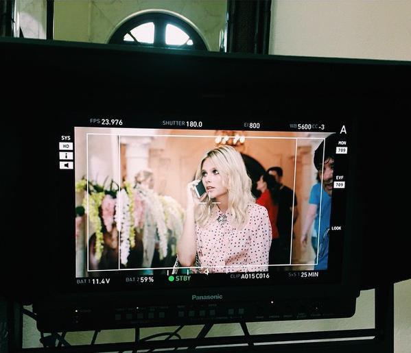 Images du tournage de Soy Luna à Cancun