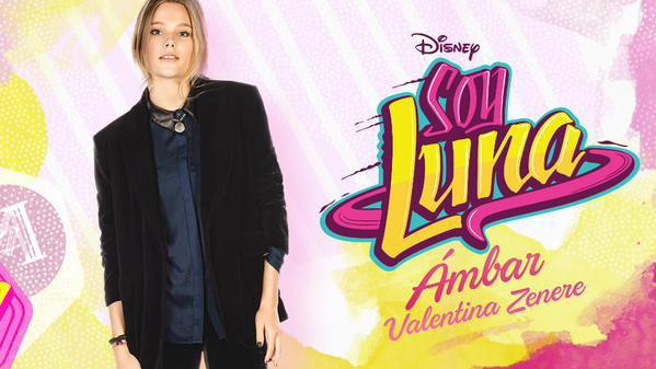 Valentina Zenere jouera le rôle de Ambar dans Soy Luna