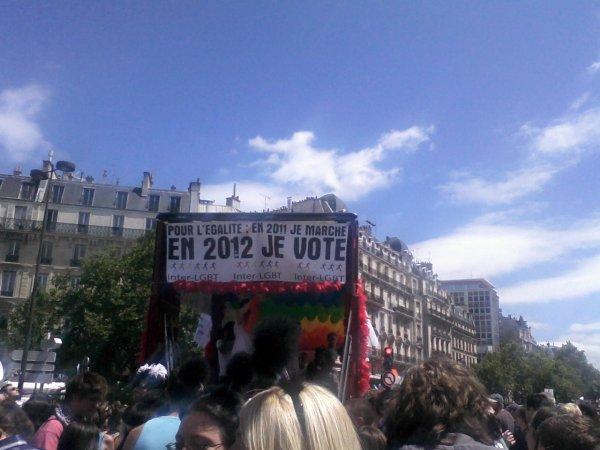 PARIS GAY PRIDE 2011
