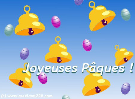 JOYEUSES PÂQUES!!!
