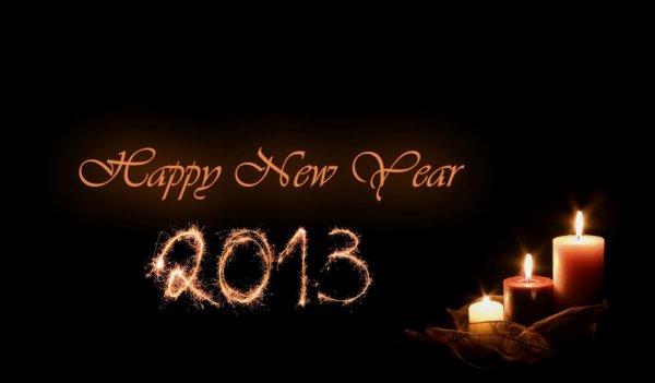 JOYEUX NOUVEL AN 2013!!!