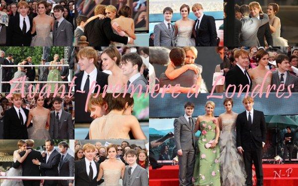 Jeudi 7 Juillet - Avant Première de Harry Potter & les Reliques de la Mort Partie 2 à Londres avec la présence du Cast et de JK Rowling + Vidéo de remerciement des acteurs, producteurs, réalisateur et de JK Rowling.