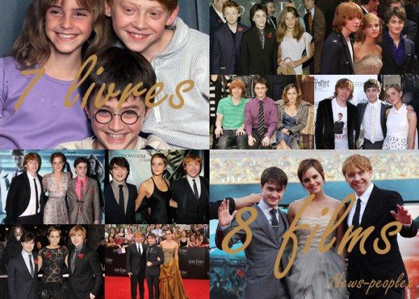 Jeudi 14 Juillet - Daniel se rend chez Regis & Kelly + Photoshoot de Emma pour Entrainment & Acovt + Evolution de Harry, Ron & Hermione.