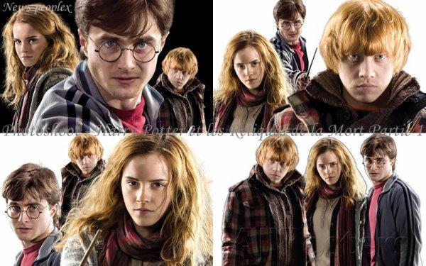 Flash-back - Photoshoot pour Harry Potter et les Reliques de la Mort Partie 1.
