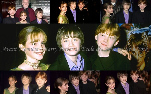 Flash-back - Avant Première Harry Potter à l'Ecole des Sorciers New York.