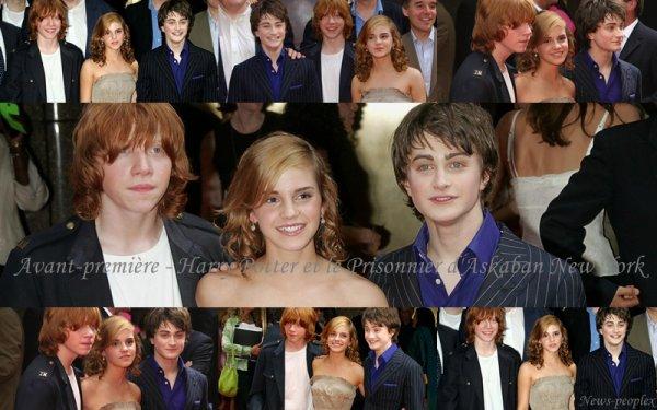 Flash-back - Avant Première Harry Potter et le Prisonnier d'Askaban New York.