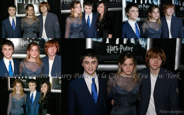 Flash-back - Avant Première Harry Potter et la Coupe de Feu New York.
