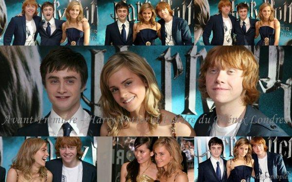 Flash-back - Avant Première Harry Potter et l'Ordre du Phénix Londres.