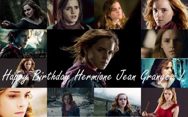 Joyeux anniversaire Hermione Jean Granger !