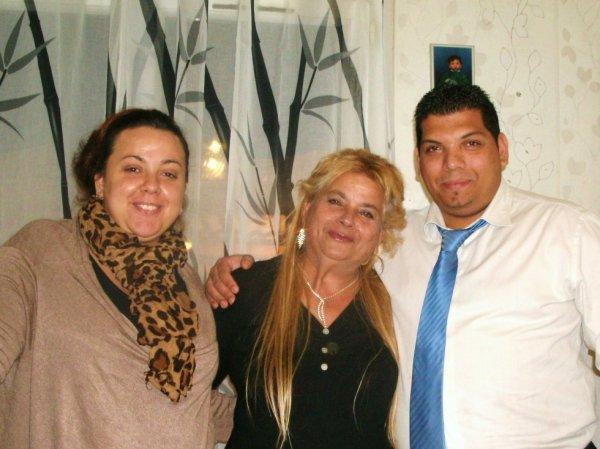 mon père, ma mère, et sa tante JOUR DE L'AN 2014