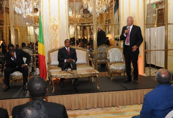Le président DSN: rencontre avec la diaspora à l'ambassade du Congo